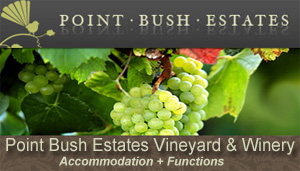 Point Bush Winery Waimate